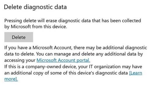 Windows 10 Laat Gebruikers Diagnostische Data Verwijderen
