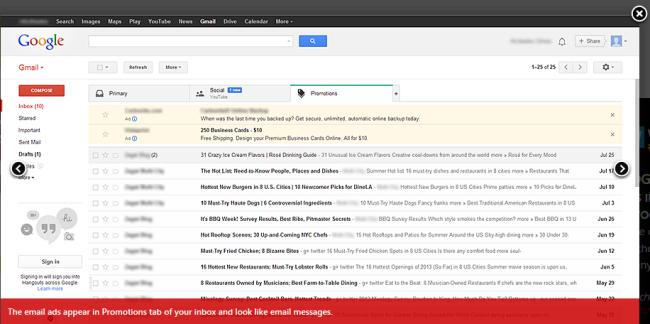 Microsoft hekelt Google-advertenties in Gmail - Security.NL