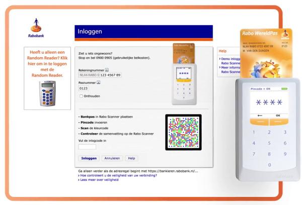 Rabobank begint uitrol Rabo Scanner voor internetbankieren ...